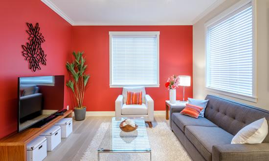 Dicas de como combinar as cores da parede da sua casa AK  ~ Quarto Rosa Goiaba